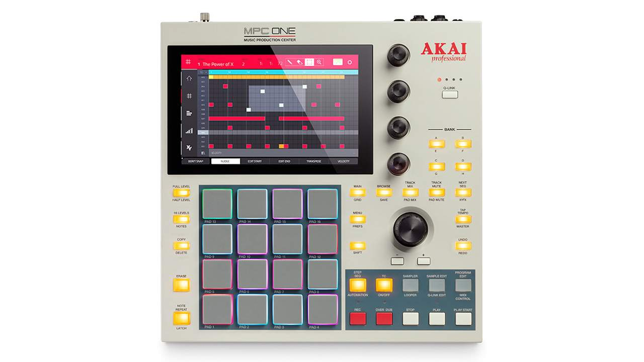 Akai MPC One Retro gives a modern music icon a classic color makeover