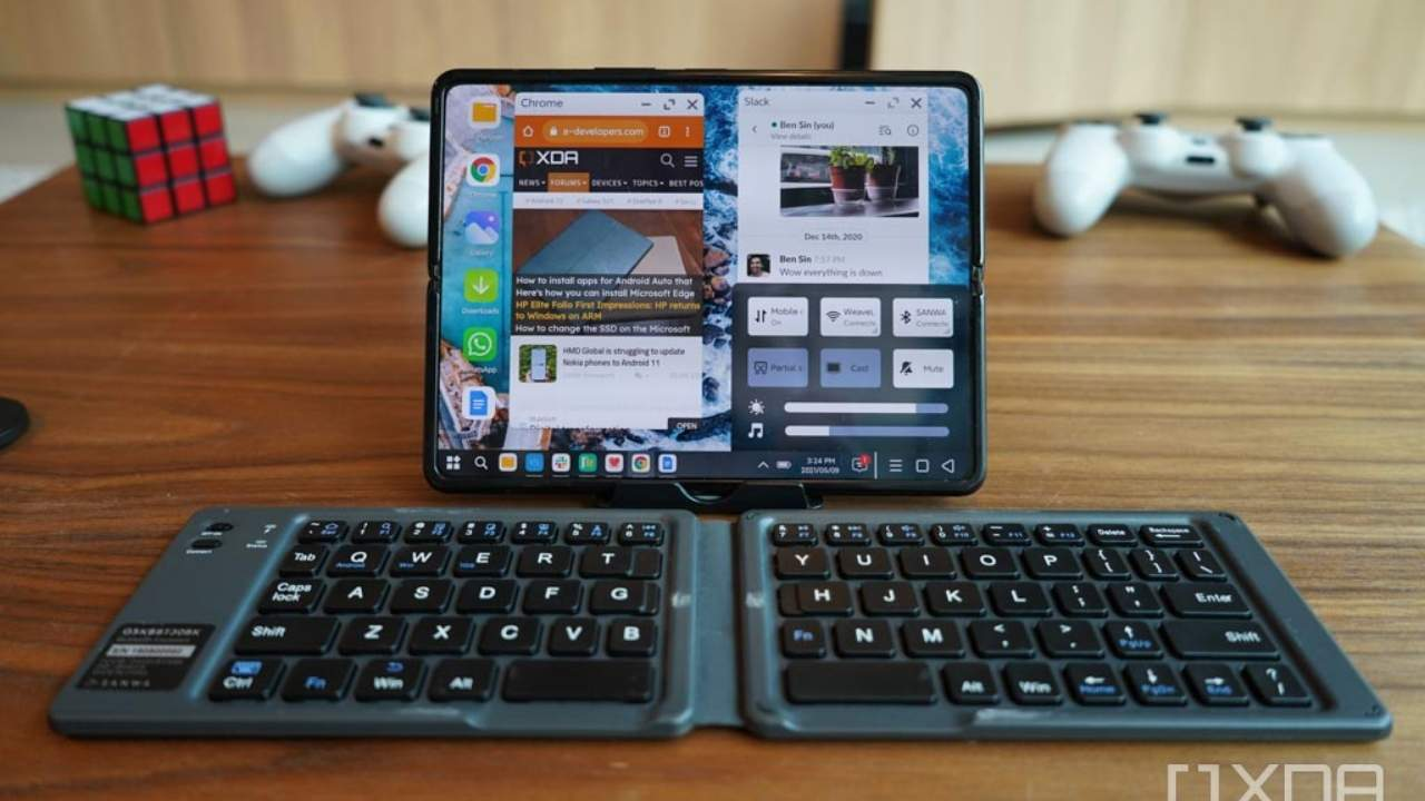 Xiaomi Mi Mix Fold PC Mode is a Galaxy Z Fold 3 must-have
