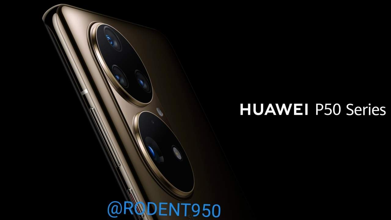 Huawei P50 camera renders adds to the design confusion