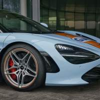 McLaren 720S in Gulf livery celebrates the renewed partnership between two iconic racing brands