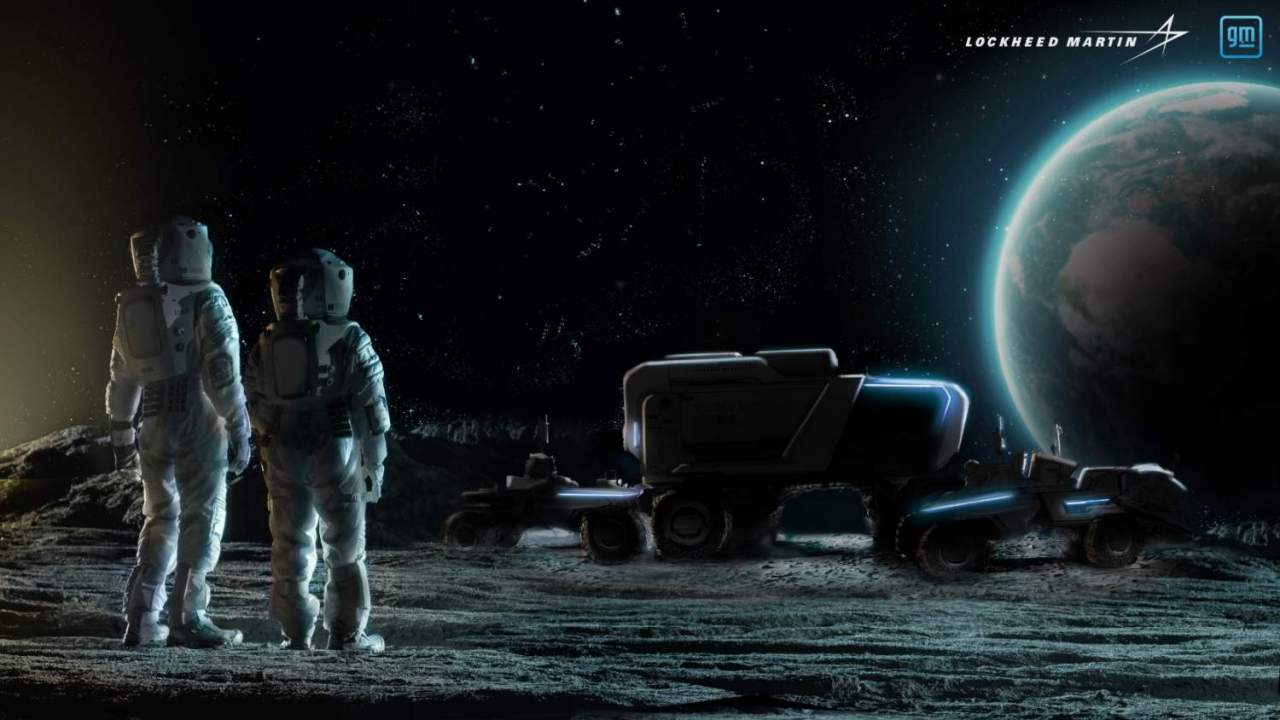 GM and Lockheed Martin are making a self-driving Moon buggy for NASA