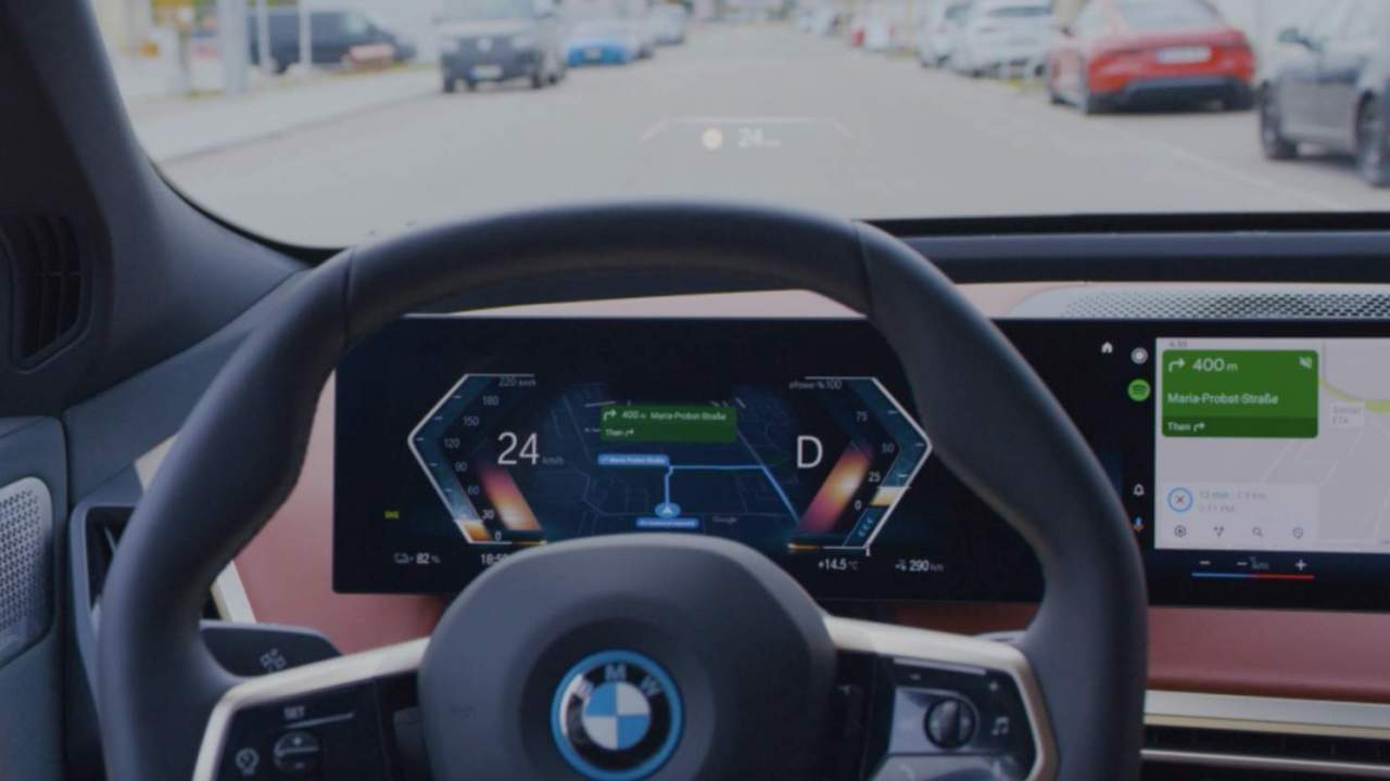 Watch Android Automotive OS take over the GMC Hummer EV's dash