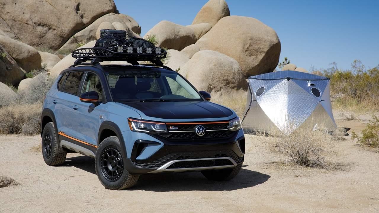 Volkswagen Taos Basecamp Concept arrives just in time for summer