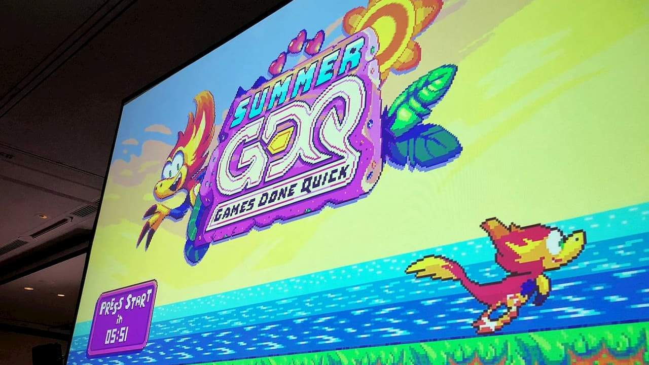 Summer Games Done Quick 2021 full week schedule revealed
