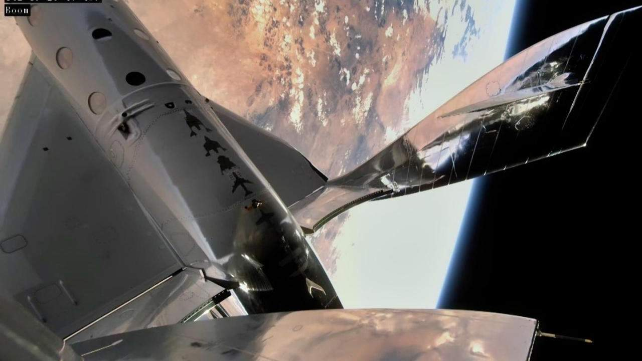 Virgin Galactic launched humans into space from New Mexico for the first time