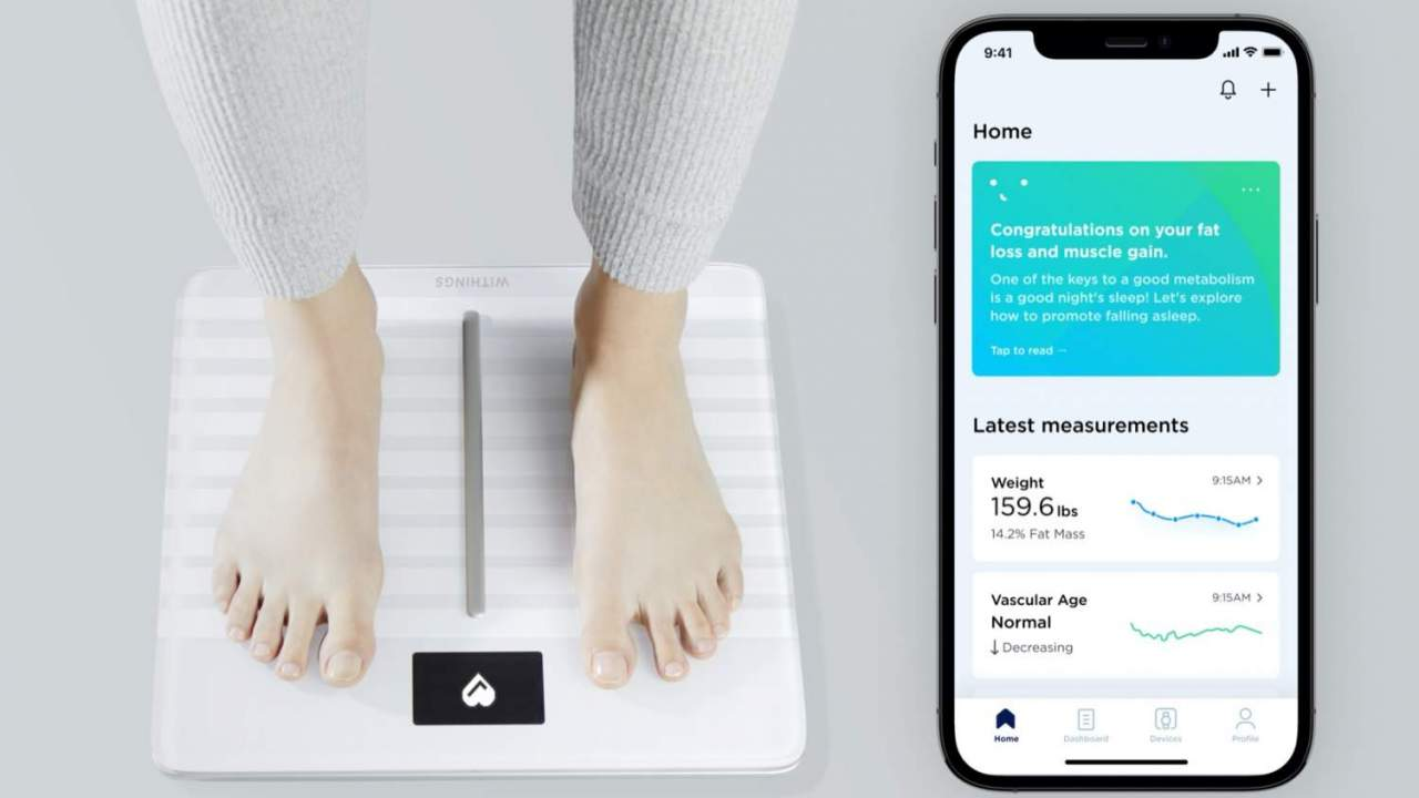 Withings' smart scale can now assess your heart health