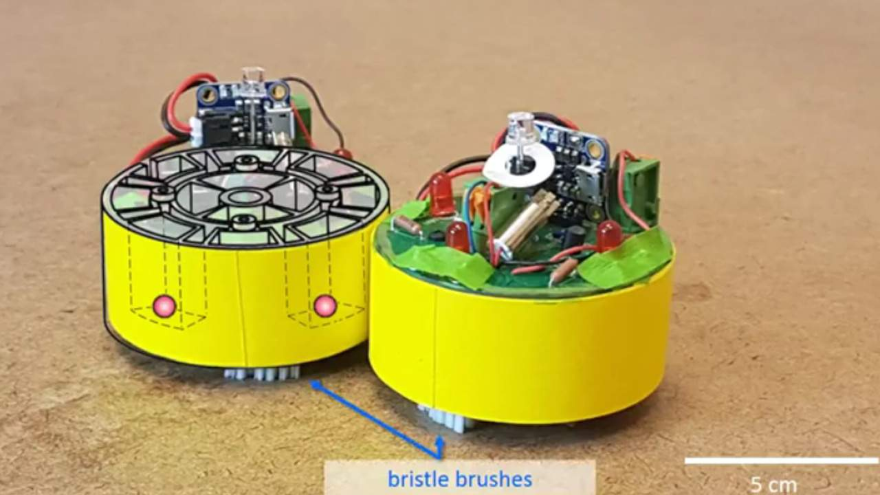 BOBbots are tiny robots able to perform tasks as a group