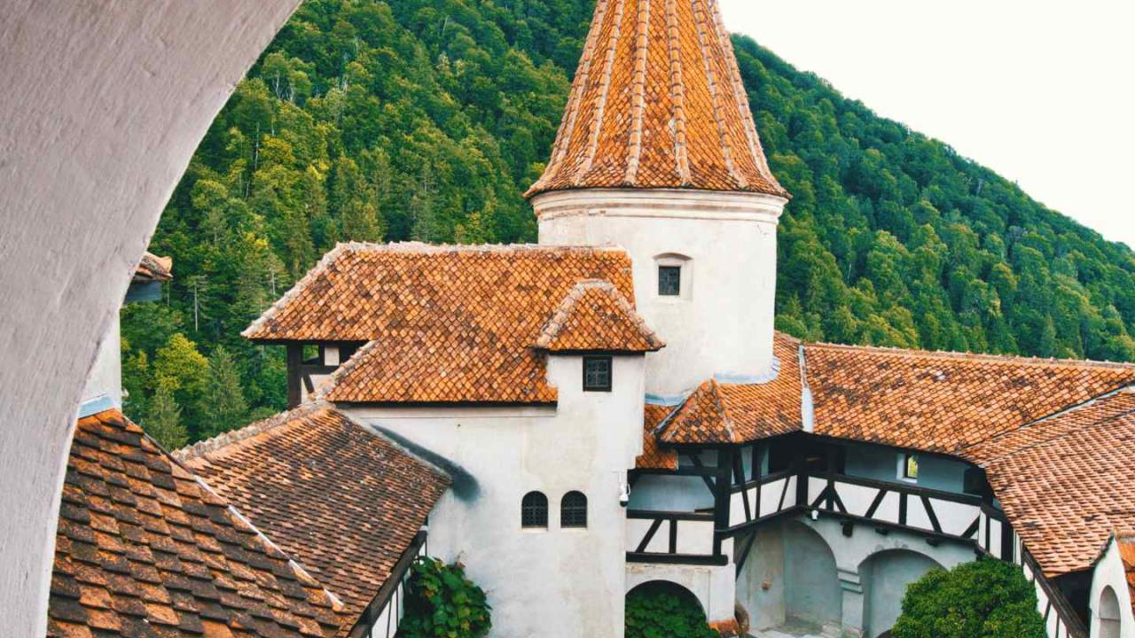 Tourists can now get COVID-19 vaccine at Dracula's castle in Romania