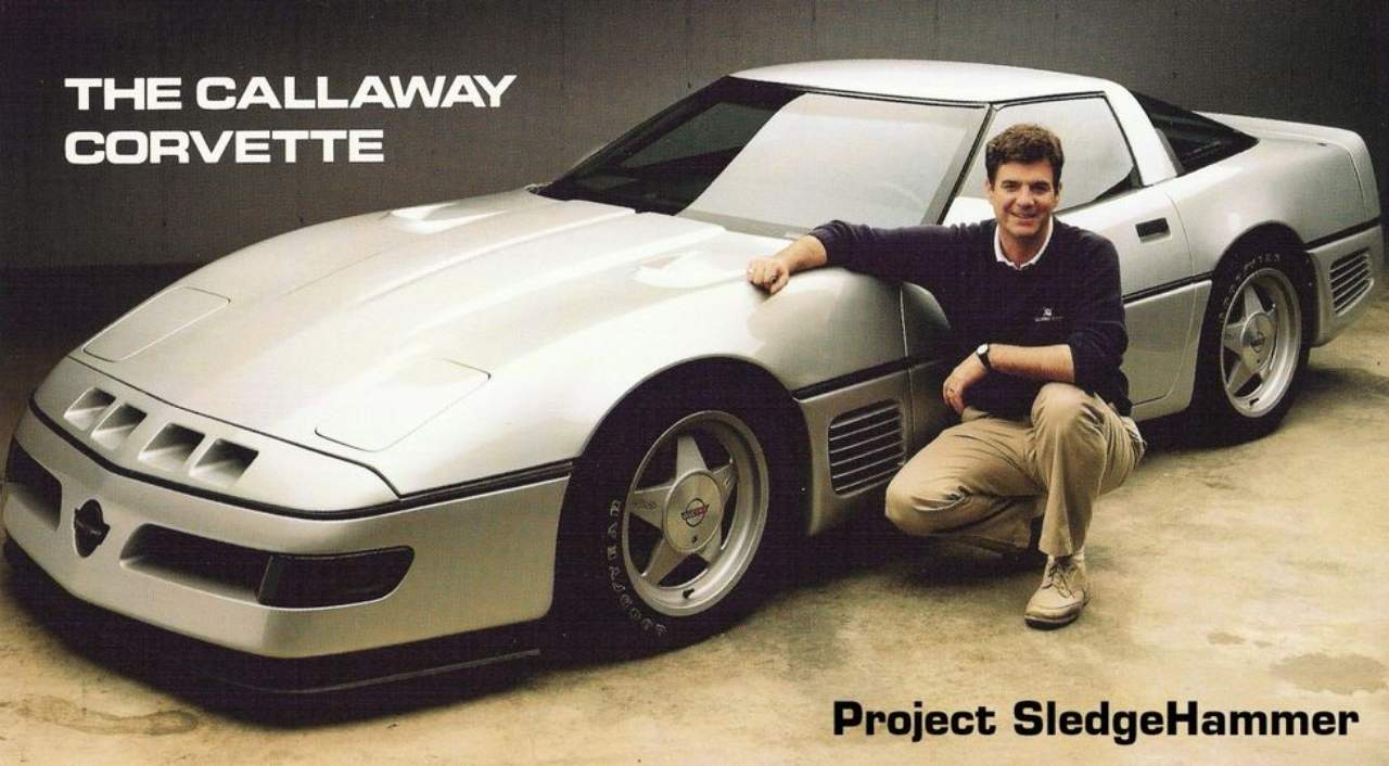 The mythical 255-MPH Corvette Callaway Sledgehammer is up for sale