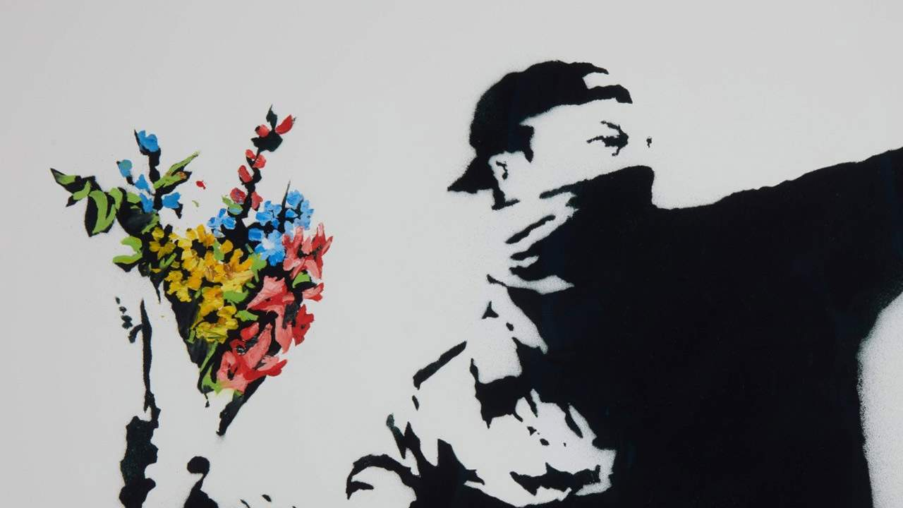 Sotheby's Banksy is first physical painting sold with cryptocurrency option