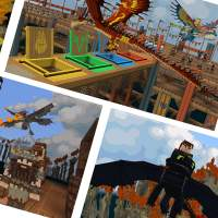 Minecraft DreamWorks How to Train Your Dragon DLC released with real flying mounts