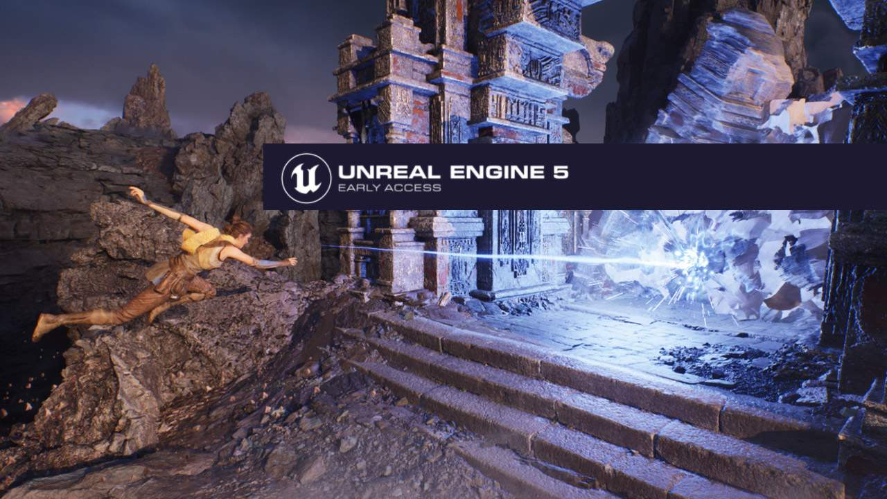 Unreal Engine 5 Early Access released to public with magical sample