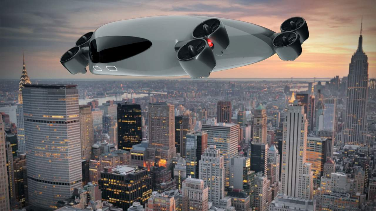 Massive eVTOL aircraft concept can haul 40 people