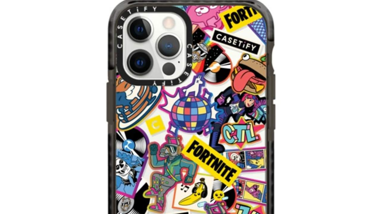 Epic taps Casetify to launch limited-edition Fortnite phone cases