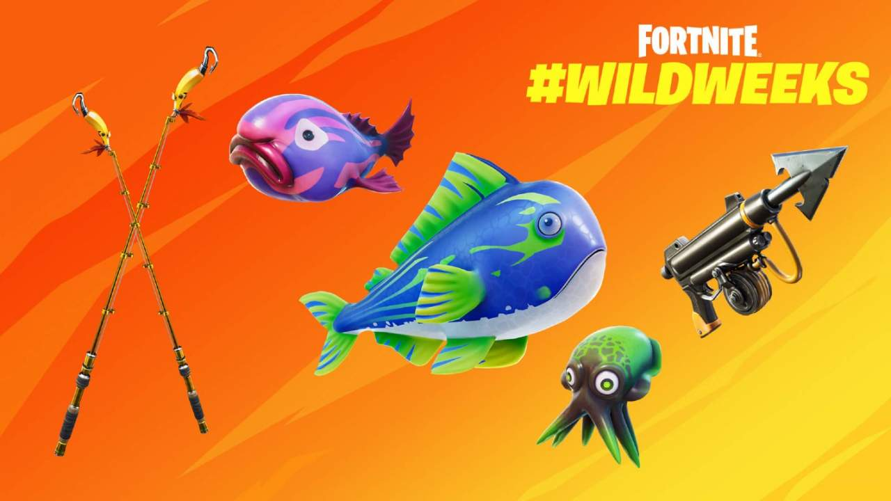 Fortnite Fish Fiesta promises a week of rare fish and weapons