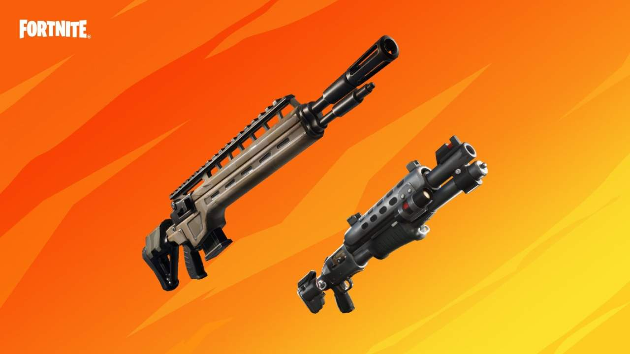 Epic just made it easier to upgrade makeshift weapons in Fortnite