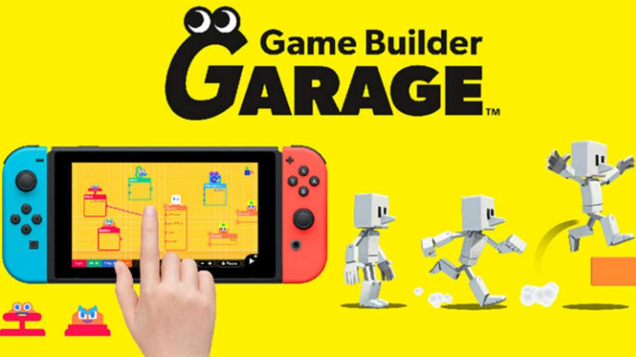 Nintendo Switch Game Builder Garage turns making games into a game
