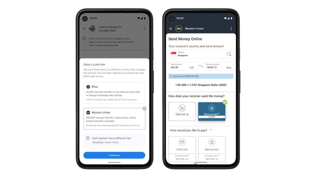 Google Pay international send money feature launches with limited reach