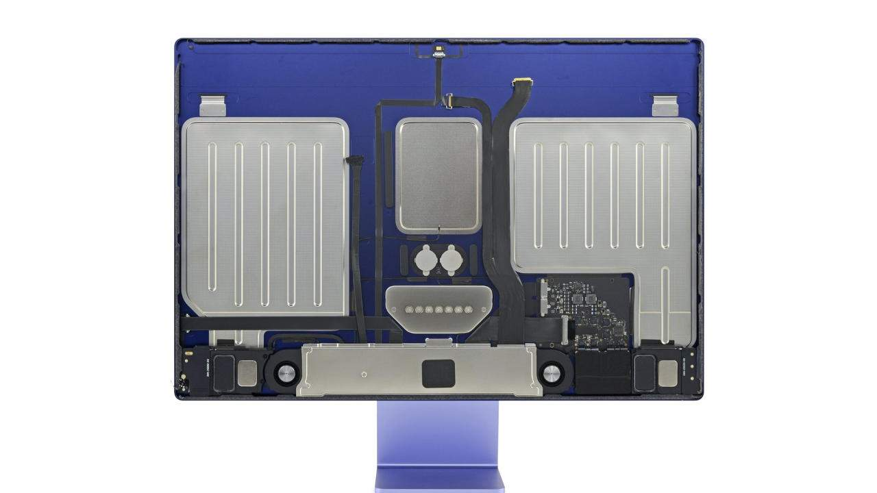 M1 iMac iFixit teardown reveals the big changes within