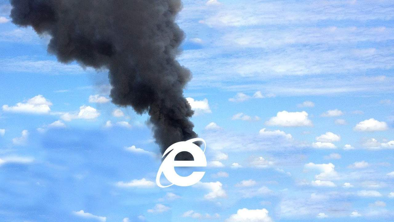 Internet Explorer 11 retires with a janky GIF