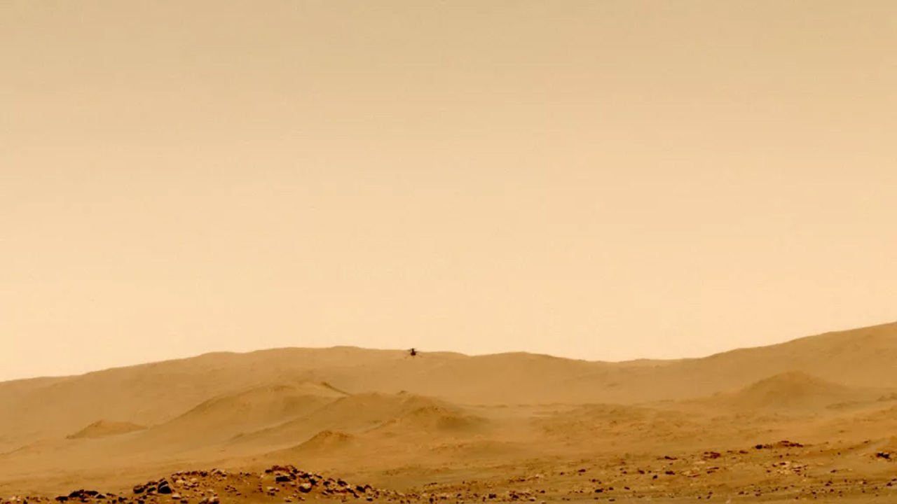 Mars Ingenuity Helicopter landed successfully at its new location