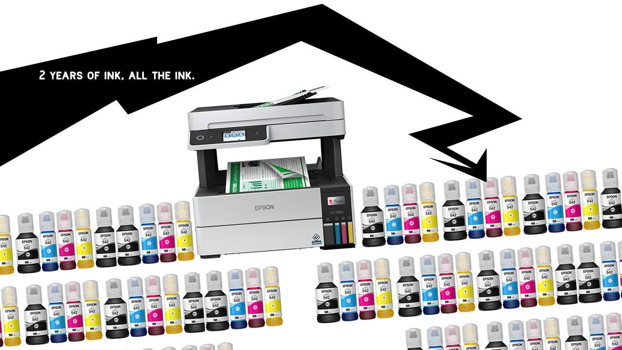 "Epson EcoTank Pro printers make ""Unlimited Ink"" a reality"