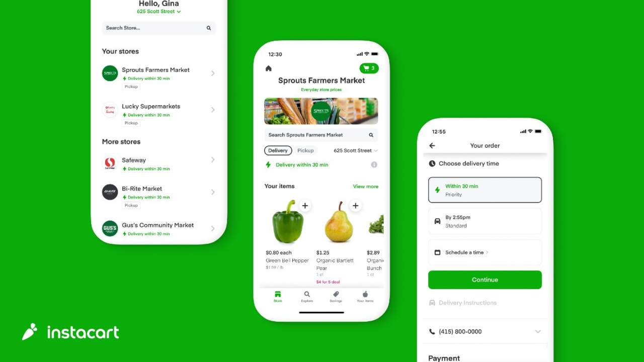 Instacart's new Priority Delivery option promises delivery in 30 minutes