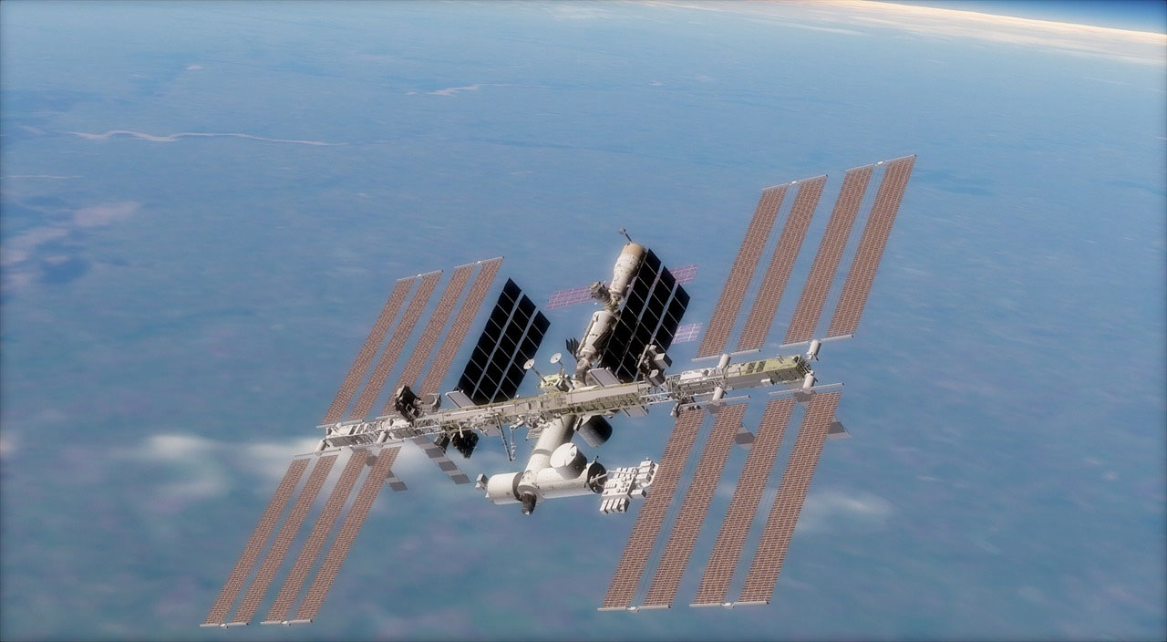 Skywatchers have the opportunity to see the ISS zip across the sky tonight