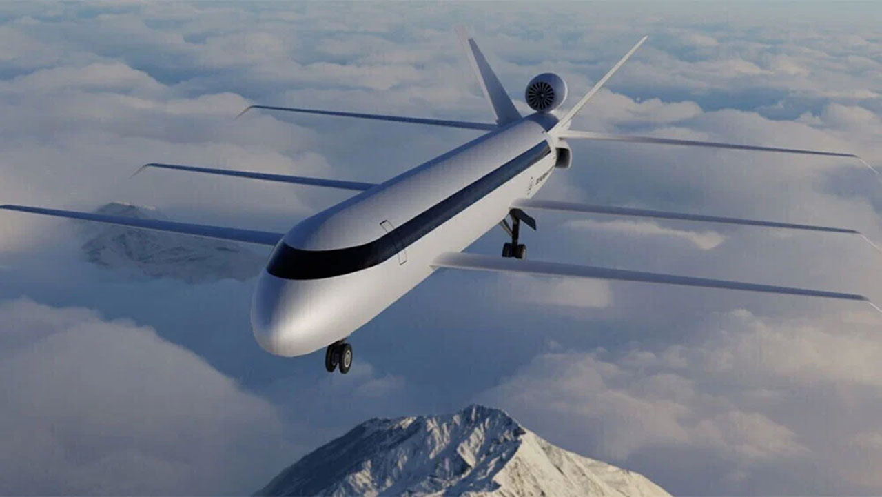 Strange-looking triple-wing jet promises more fuel efficiency