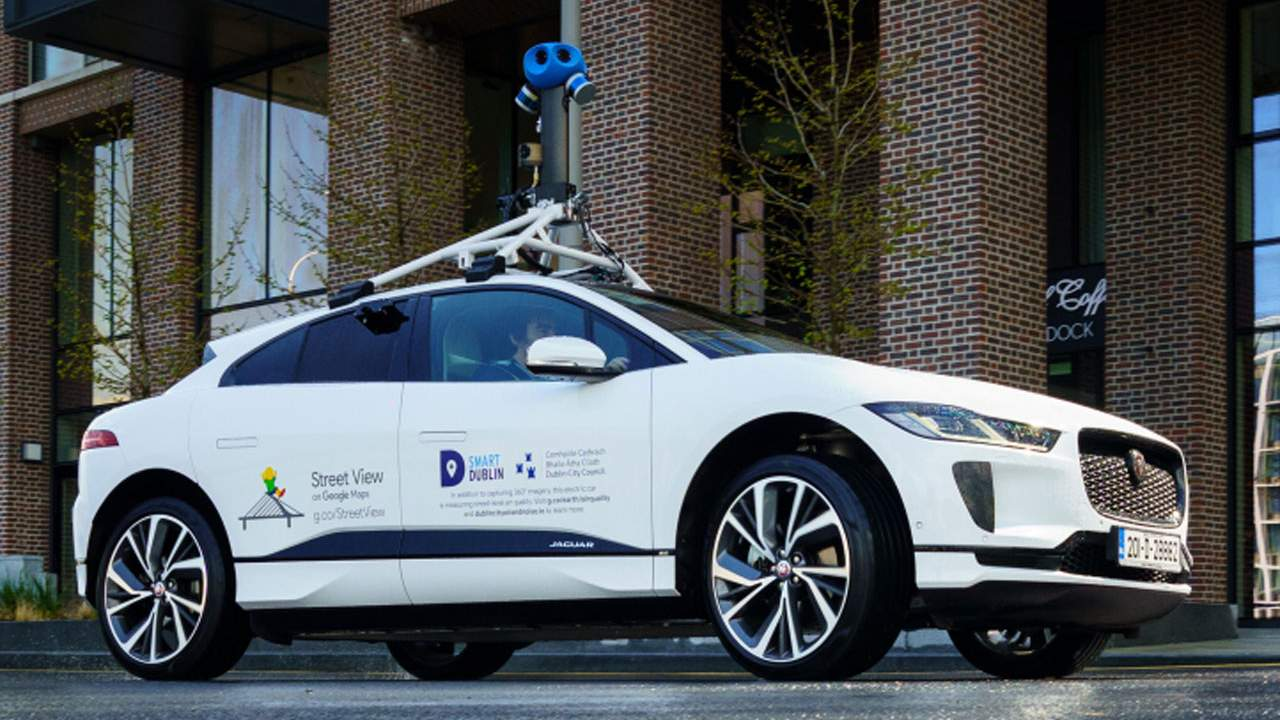 Jaguar teams with Google to use the I-Pace EV for measuring air quality in Dublin