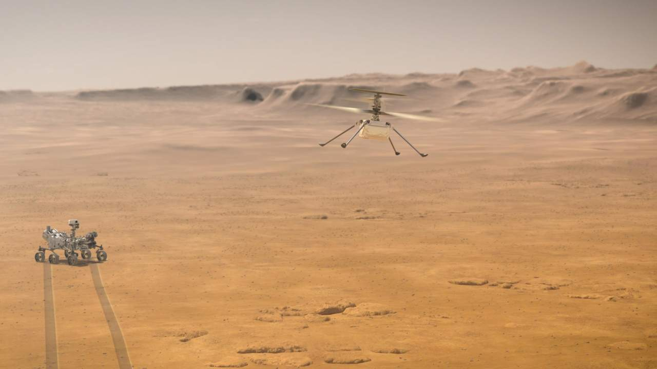 Ingenuity Mars Helicopter mission has been extended by NASA