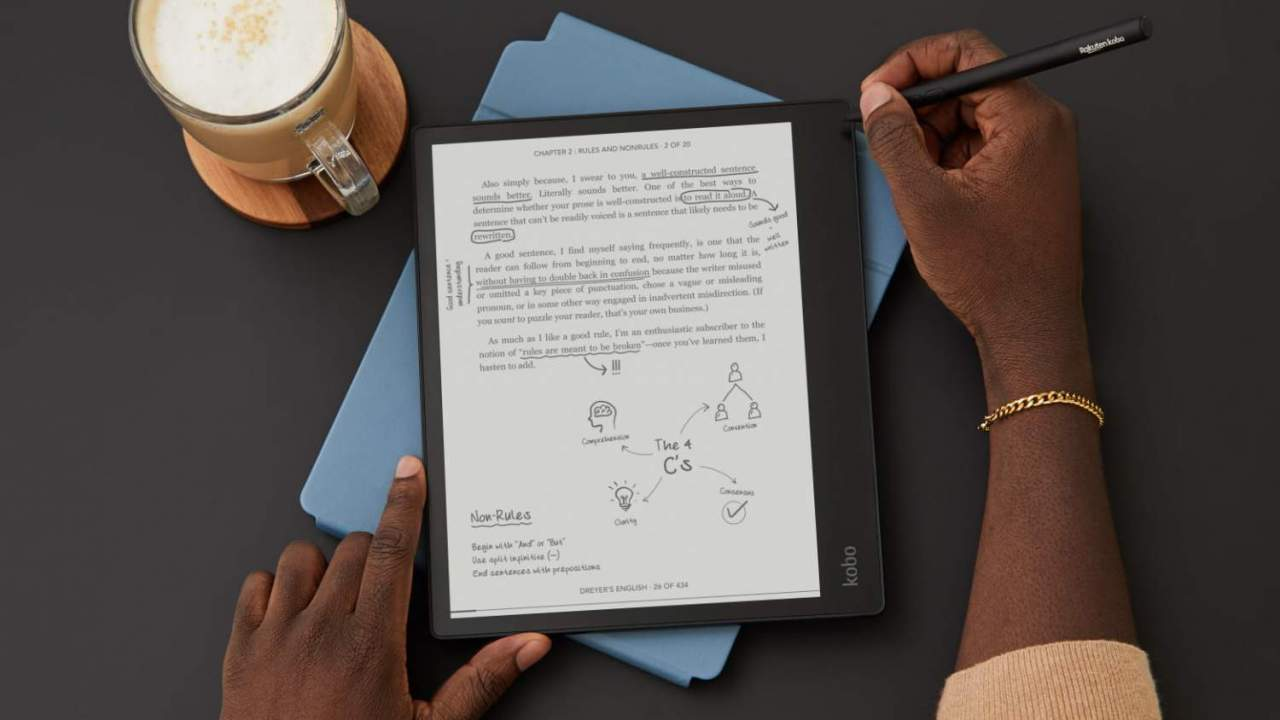 Kobo Elipsa is a 10.3-inch e-reader to replace your paper notebook
