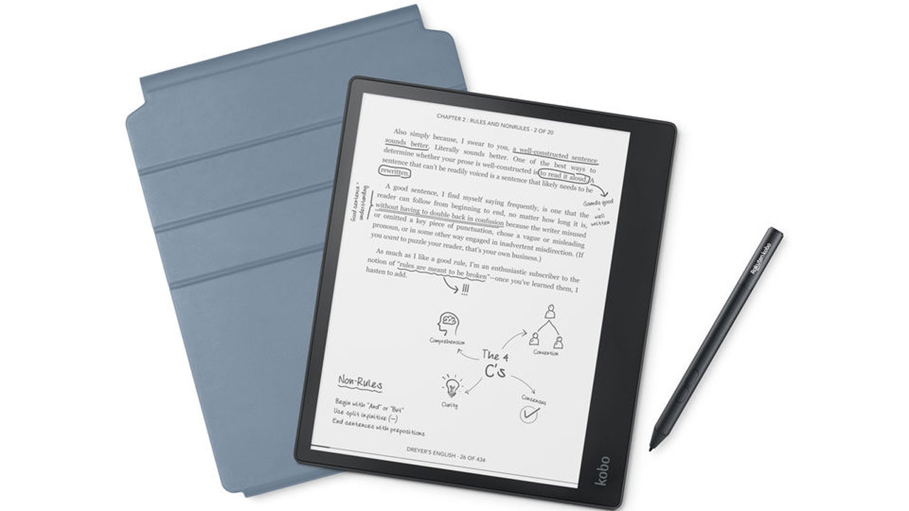 Kobo Elipsa combines the function of an e-reader and notebook in one device