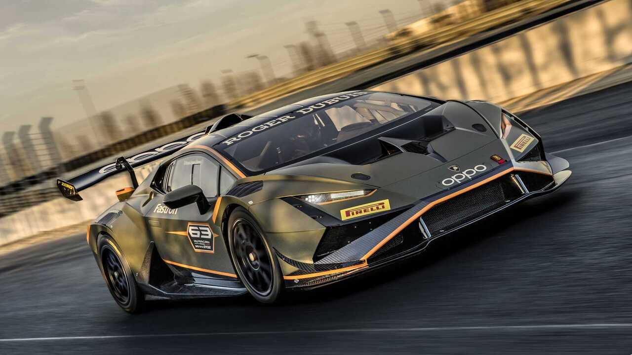 Lamborghini Huracan Super Trofeo EVO2 boasts video game styling and trick aerodynamics