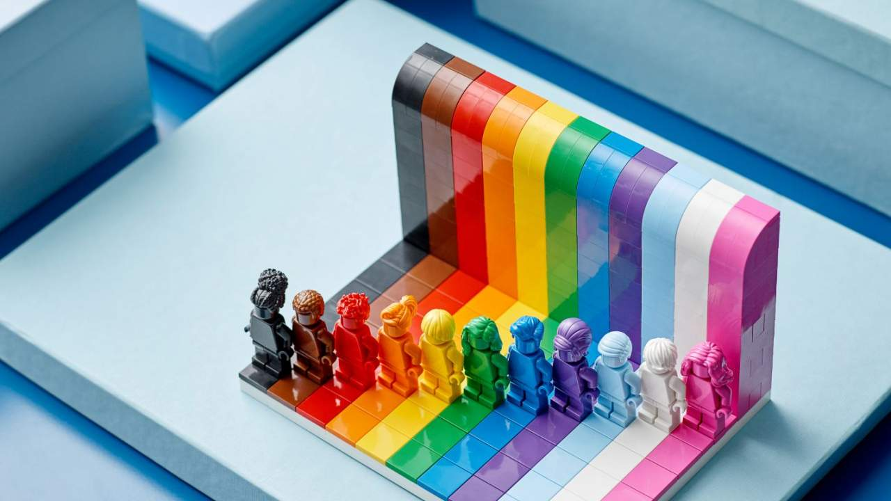 LEGO Everyone is Awesome diversity set launches with Pride Month