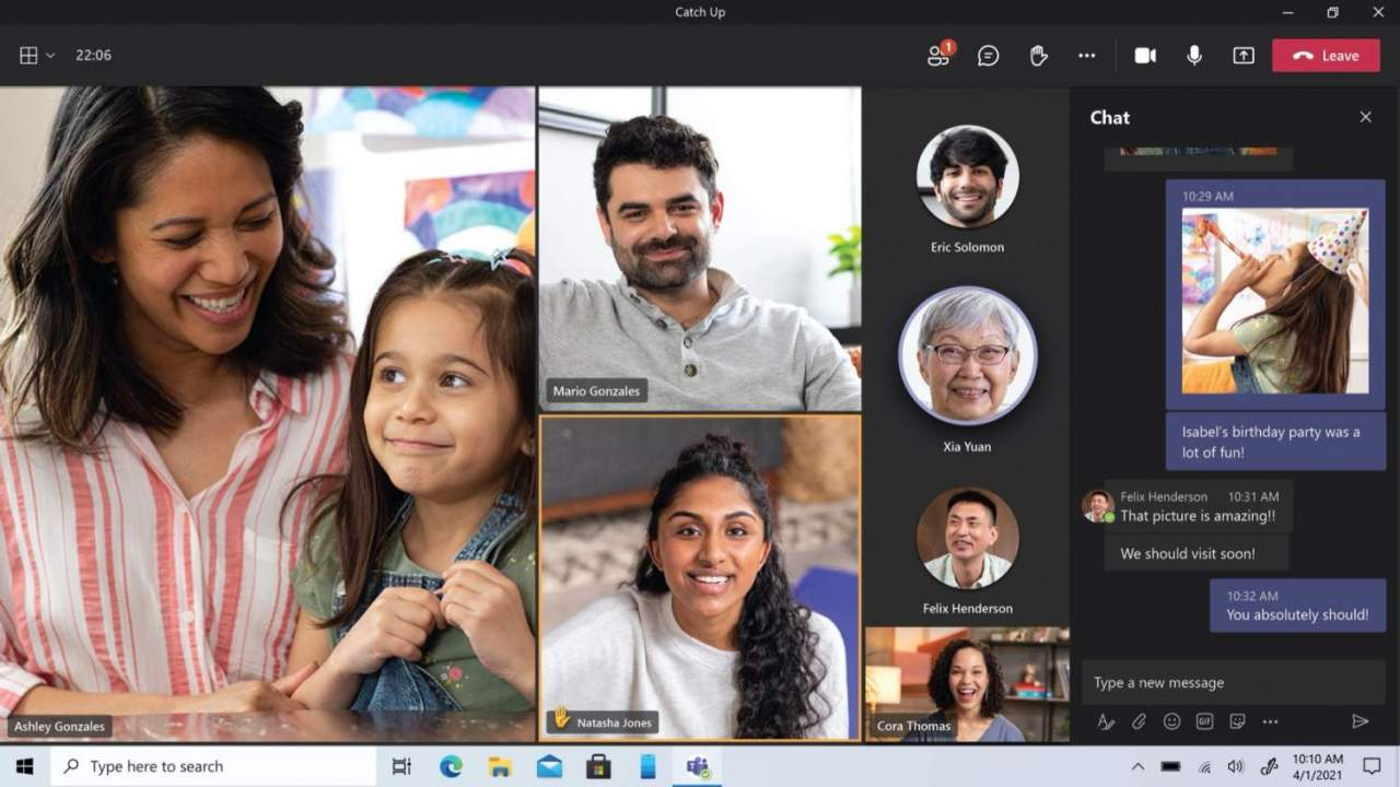 Microsoft Teams free friends & family video calls have a big advantage