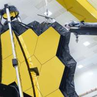 The James Webb Space Telescope bloomed one last time on Earth