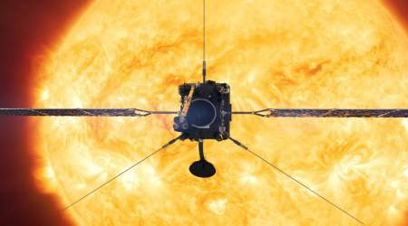 Solar Orbiter scores an unexpected first sighting for NASA's Sun imager