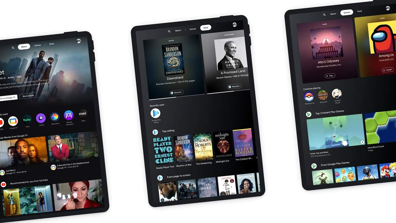 Android Entertainment Space lets Google invest in tablets without new hardware
