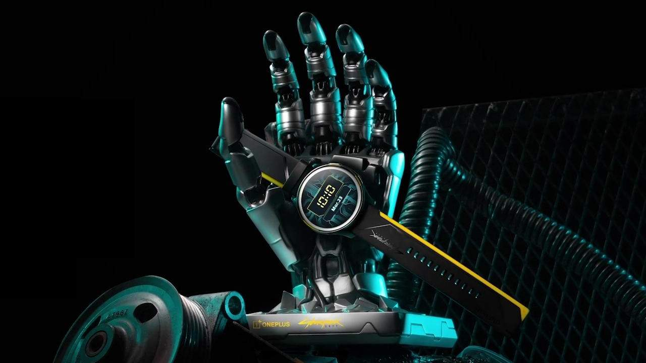 OnePlus Watch Cyberpunk 2077 Edition is coming but you can't have it