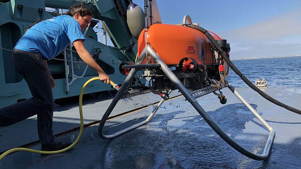 Orpheus autonomous underwater drone will explore the ocean floor