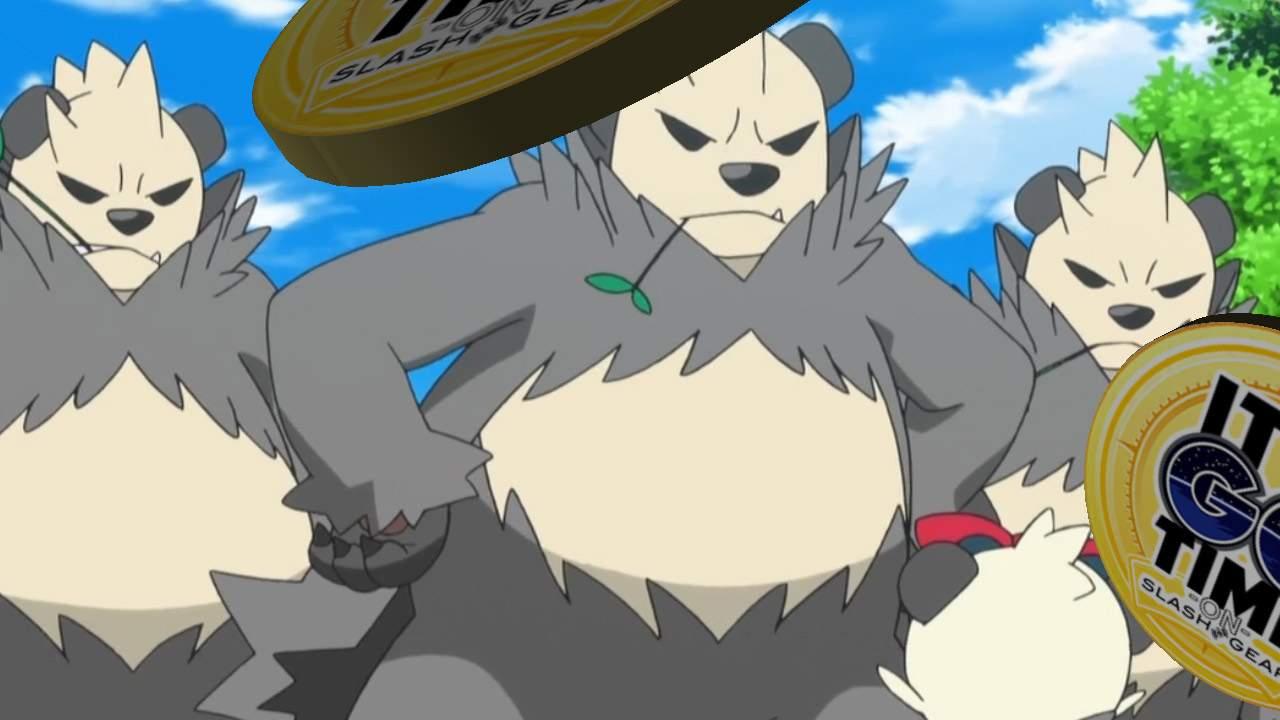 Pokemon GO Pancham to Pangoro time is Tuesday