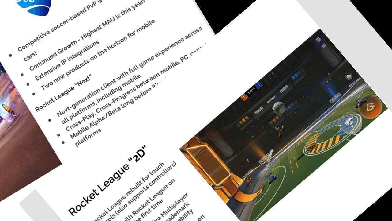 Full Rocket League planned for mobile devices, like Fortnite