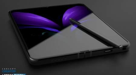 Galaxy Z Fold 3 leaks show S Pen, Under-Display Camera