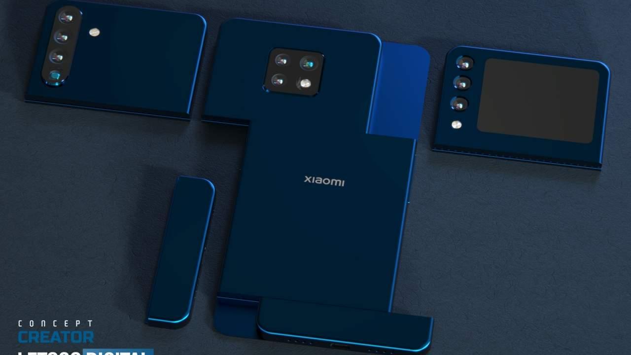 Xiaomi patent shows a modular phone camera system