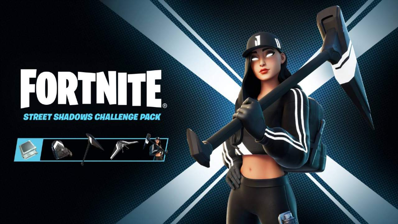 Fortnite Ruby Shadows Challenge Pack is free, but you need a PC to get it