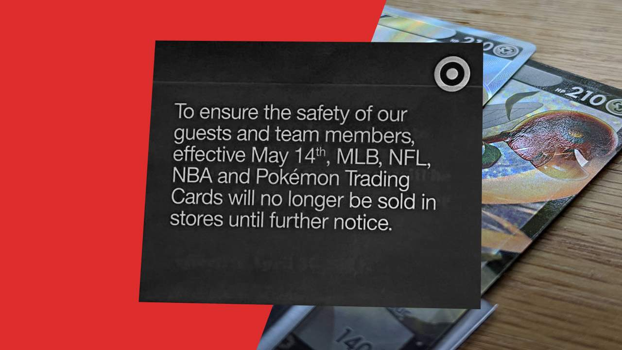 Pokemon cards are too dangerous to sell in stores, says Target [UPDATE: Walmart statement]