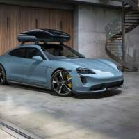 Porsche Tequipment Performance roof box hauls stuff at high speeds