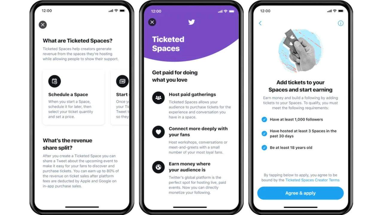 Twitter Ticketed Spaces will have users paying to attend