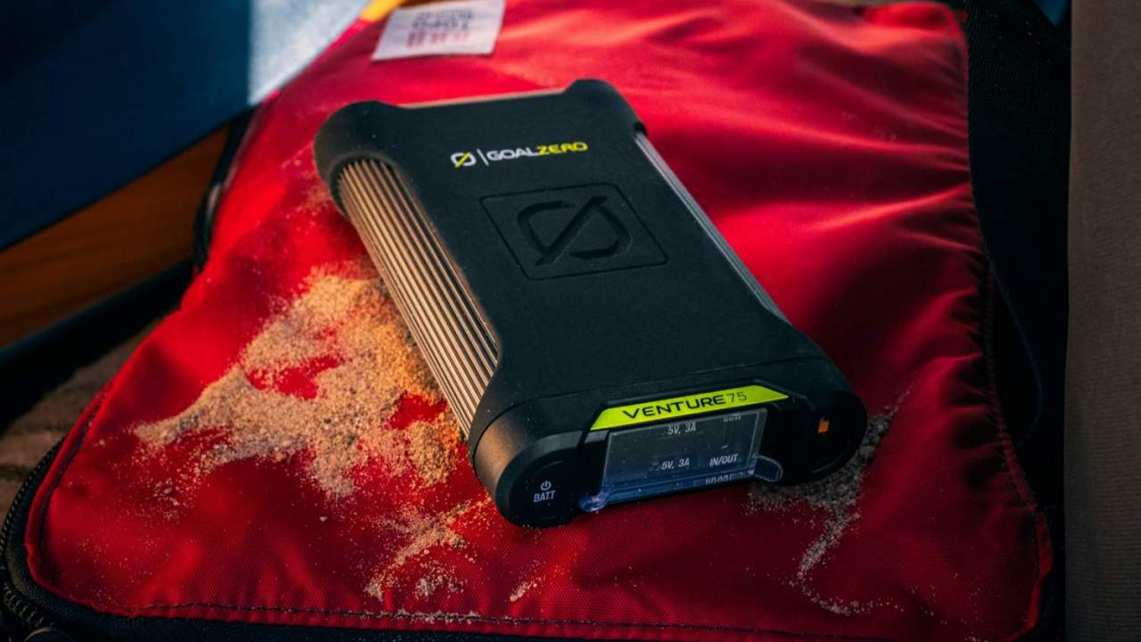 Goal Zero Venture 35 and 75 pair portable power with IP67